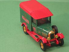 YY047/SA Morris Cowley LIGHT VAN 1929 FULLER'S Matchbox models of yesteryear