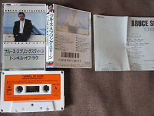 BRUCE SPRINGSTEEN Tunnel of Love JAPAN CASSETTE w/PS+INSERT 28KP1555 Free S&H