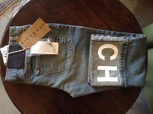 Richmond womens blue 3/4 lenght boot cut jeans 29' 22L