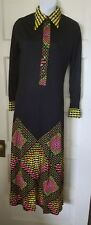 VINTAGE MR. DINO LONG DRESS SZ  SMALL  SIGNED