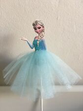 Princess Elsa Frozen themed Cake Topper Girls Birthday Party decoration baking
