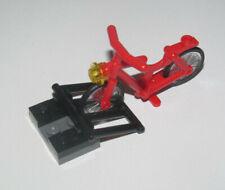 Lego ® City Accessoire Minifig Vélo Rouge avec Parking Red Bike 4719 NEW