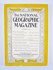 NATIONAL GEOGRAPHIC October 1938 Augustus/Finland/Hawaii/Pacific Coastal Fishes