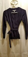 Ladies Old Navy, Navy Blue Wrap Around Sweater, School Uniform Approved, Size S