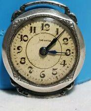 orologio militare ww1 trench car watch cassa in argento 800