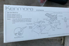 Kenmore 213702016, Button Holer Hole Maker Attachment, Foot, Sewing Machine