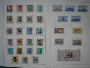 TÜRKEI Sammlung 1963 - 1988 postfrisch