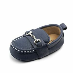 Fashion Boy Shoes Casual Infant Trainers Loafers Doll Shoes Leather Moccasins