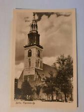 alte Foto  Ansichtskarte  Berlin Marienkirche 1955
