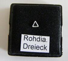 nat. Rohdiamant-Dreieck, natural rough diamond triangle 3 mm