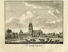 Antique Print-PEINS-FRANEKERADEEL-FRIESLAND-Bulthuis-Bendorp-1792