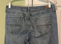 EUC American Eagle True Boot Womens Jeans Light/Medium Wash Size 8R