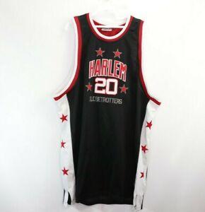 Vintage Fubu Mens 2XL Marques Haynes #20 Harlem Globetrotters Basketball Jersey