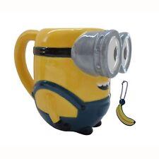 Minions Bob 3d Taza con Plátano Aromático Colgante Cerámica Regalo Amarillo
