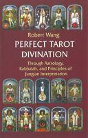 Perfect Divination Tarot Book Through Astrology Kabbalah Jungian Interpretation