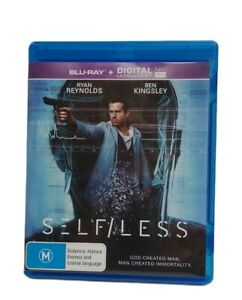 Self/Less Blu-Ray 2015 With Ryan Reynolds DVD Free Tracked Post