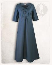 Susy Kleid natur//blau S Larp Mittelalter Reenactment E#01030