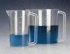 Nalgene 1223-1000 1000 ml PMP Beaker with Handle - Case of 6