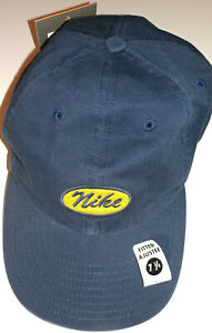 """NEW W/TAG - NIKE Navy """"Pro Classics""""  Fitted Hat Size 7 1/4"""