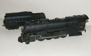 Lionel 736 Berkshire Locomotive & 2046W Tender CLEAN