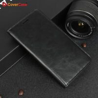 Luxury Genuine Leather Wallet Flip Case Stand Cover For OnePlus 3