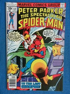 PETER PARKER, THE SPECTACULAR SPIDER-MAN # 17 - (NM+) -CHAMPIONS,ANGEL,X-MEN