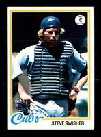 1978 Topps #252 Steve Swisher DP NM/NM+ X1048840