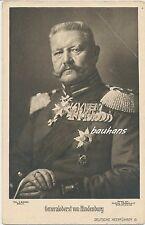 AK Generaloberst von Hindenburg (i113)