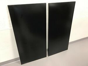 2 Shelves for Husky Black and Gray 72 x 46 x 24 inch Welded Steel Garage Cabinet