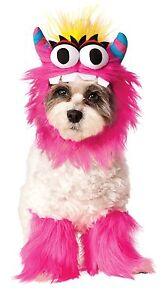 Adorable Pet Dog Costume: Blue Monster 580179 or Pink Monster 580180, Rubies
