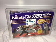 The Karate Kid Remco Competition Center with Referee 1986 Rare New ACRYLIC CASE
