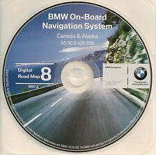 97 98 99 00 01 02 BMW 525i 528i 530i 540i NAVIGATION DISC CD CANADA BC AB SK ON