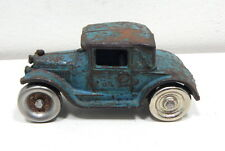 Vintage Arcade Cast Iron 1927 Model A Cabriolet Toy Car