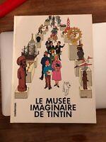 «LE MUSÉE IMAGINAIRE DE TINTIN» Ed1980 SANS CALQUE HERGÉ/STERCKX -Parfait Etat