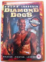 Diamant Chiens DVD 2007 Action Thriller Film Film avec Dolph Lundgren