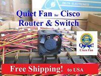 Quiet Checkpoint UTM-1 570 U-20 Chassis Fan 12dBA Noise vs 35dBA stock fan