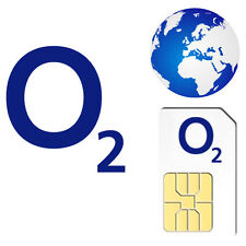 O2 INTERNATIONAL Pay As You Go Sim Card PAYG For Unlocked Mobile Phones