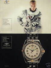 PUBLICITÉ PAPIER 1998 MONTRE BREITLING WINGS LADY - ADVERTISING