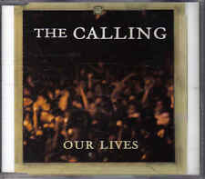 The Calling- Our Lives promo cd  single