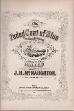 Faded Coat of Blue (The Nameless Grave) Ballad, 1865