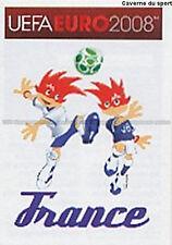 N°332 VIGNETTE PANINI MASCOTTE FRANCE EURO 2008 STICKER