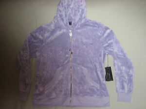 NEW BCBG PURPLE TRACK SUIT JACKET ONLY XL $160 SO CUTE!