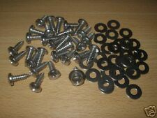 LAND ROVER DEFENDER,S3 ,STAINLESS STEEL 30 FLOOR SCREWS AND WASHERS