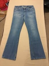 American Eagle Outfitters Woman��s Stretch True Boot Blue Jeans Size 6 Reg