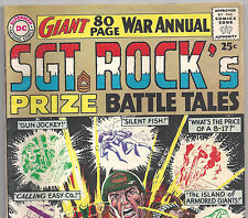 DC Comics SGT. ROCK'S PRIZE BATTLE TALES! from Winter 1964 in VG Condition