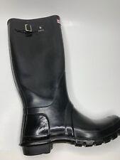 Hunter Rain Boots Tall Black Gloss SINGLE RIGHT BOOT ONLY 10 W 9M