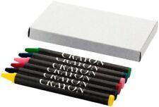 30 PEZZI Piccolo set con 6 pastelli colori a cera in scatola di cartone 0FUR