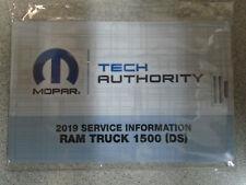 2019 DODGE RAM TRUCK 1500 Workshop Repair Service Shop Manual ON USB