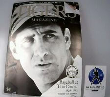 1999 TIGERS MAGAZINE / GAME PROGRAM -HANK GREENBERG COVER (ISSUE # 2)