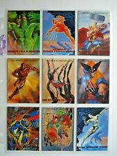 1993 SKYBOX *MARVEL MASTERPIECES SERIES 2* COMPLETE 90 CARD SET + PROMOS